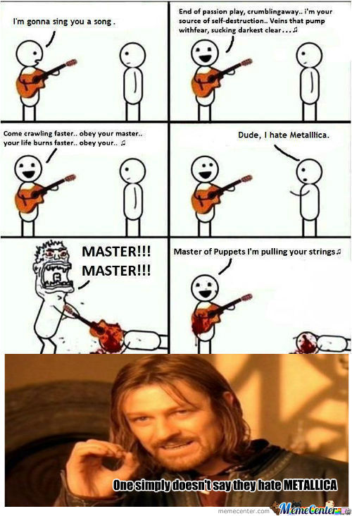 Funny Metallica Memes Metallica Meme