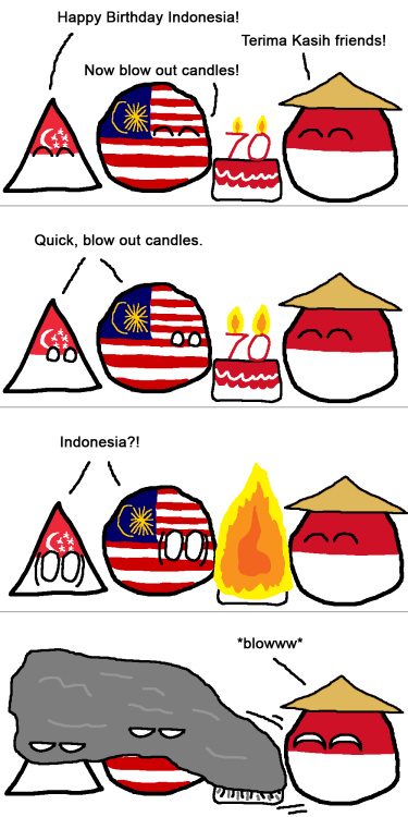 Indonesian smog and forest fires - Meme by Tuinlaaf ...