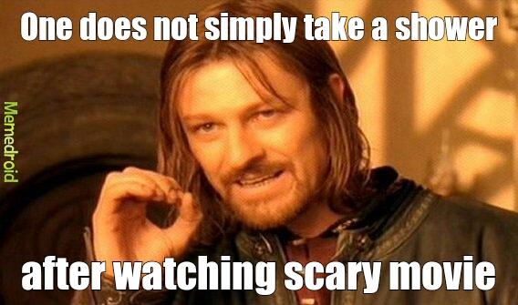 scary movie meme