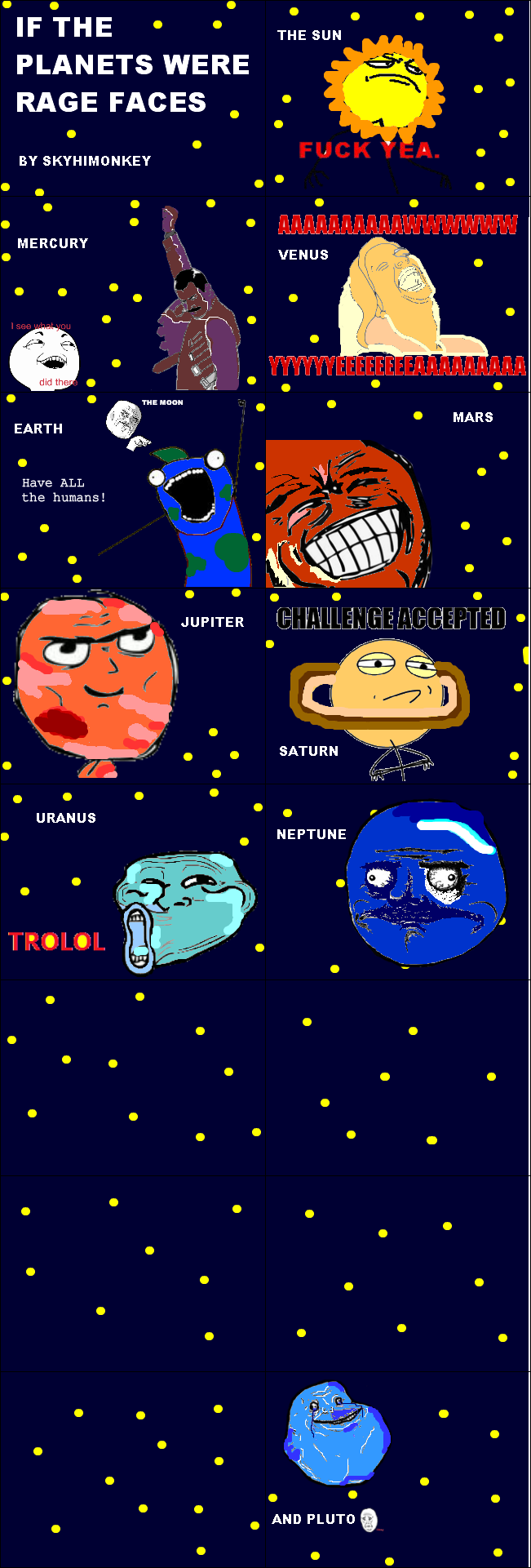 silly meme solar system - photo #9