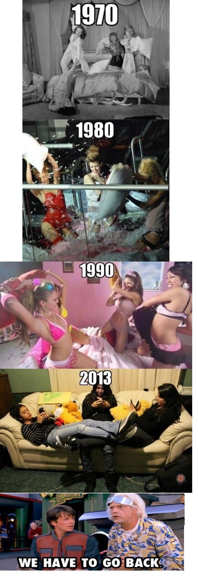 Mesdames il faut reprendre les bonnes vieilles traditions...hihi