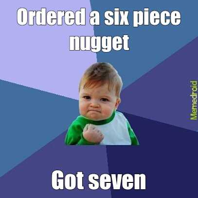 six piece to seven