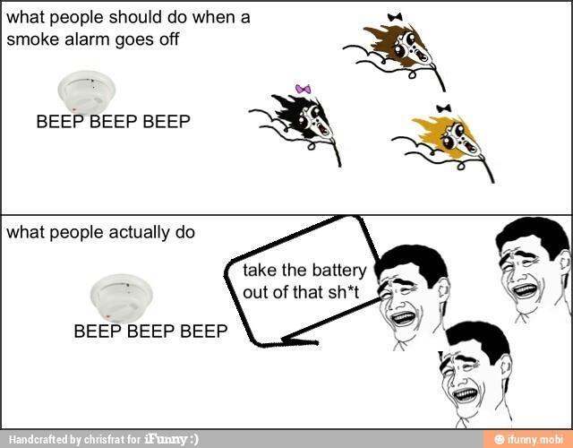 Smoke Detector Meme By Eflat Memedroid