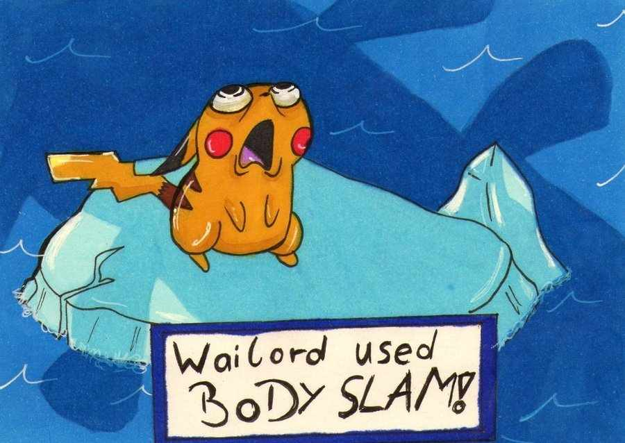 Memedroid - Images tagged as 'wailord' - Page 1 Wailord Used Body Slam