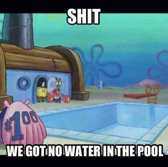 everyone's high underwater