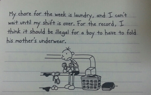 Diary Of A Wimpy Kid May