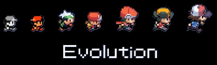 pokemon evolotion