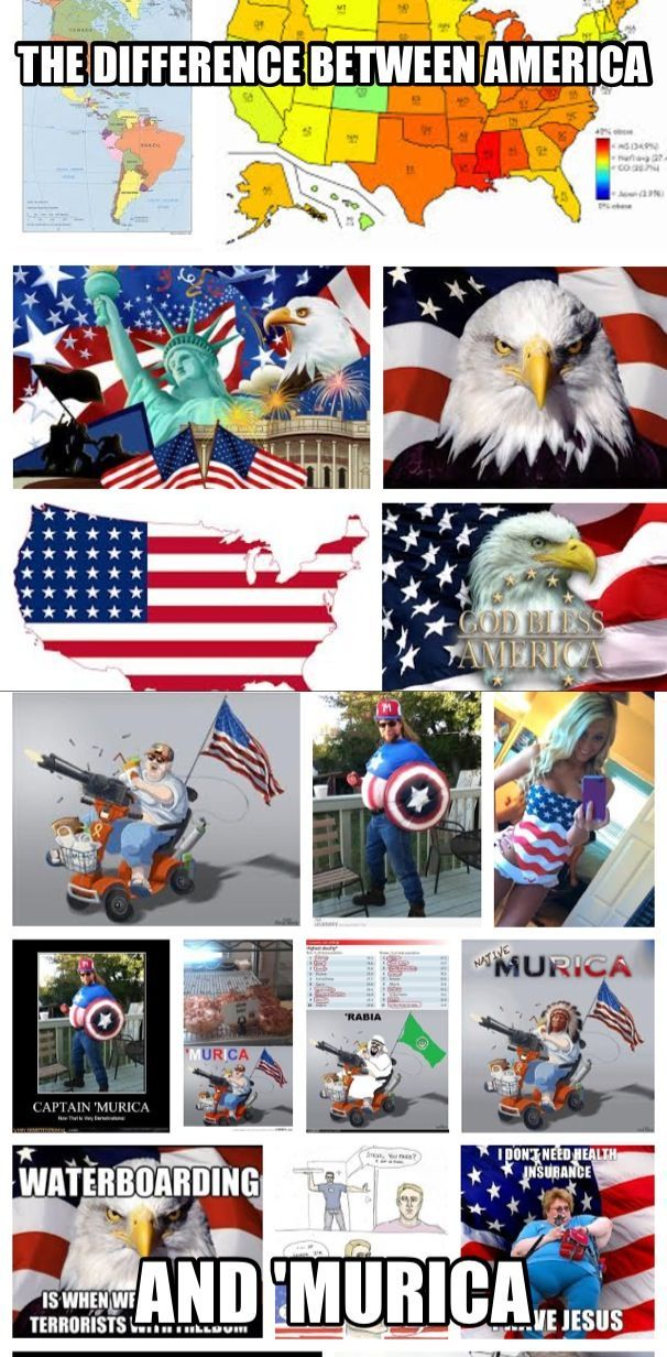 America or 'Murica?
