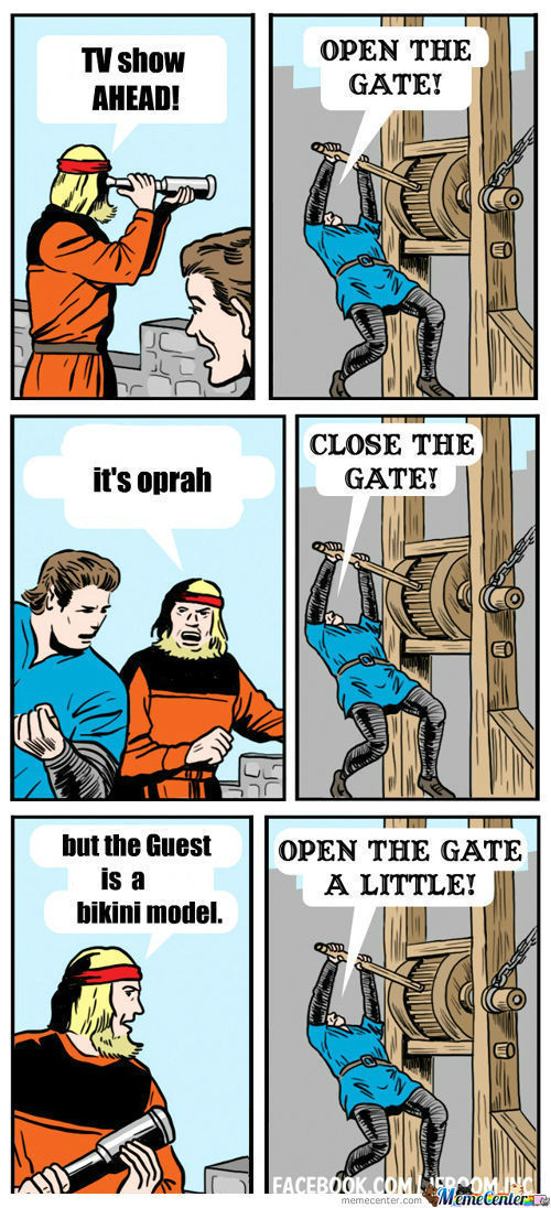 open the gate  my new favorite template