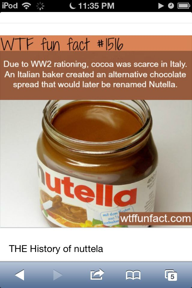 ode to ww2 thanx for great inventions like nutella and atom bombs