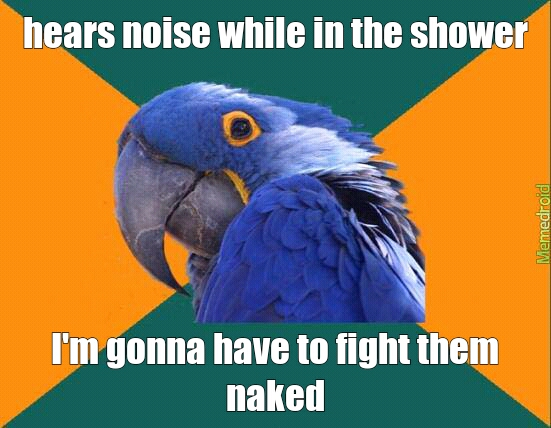 fighting naked