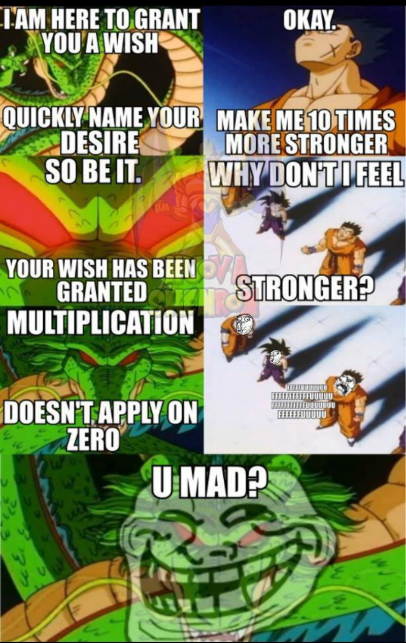 dragon ball memes english