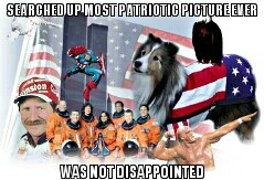 It's so patriotic