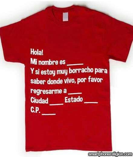 ff1c9b7a3238c Camiseta para fiestas - Meme subido por jcortesf01  ) Memedroid