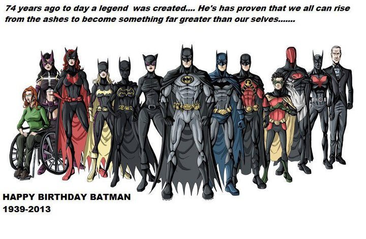 Happy Birthday B Man Meme By Batgirl 359 Memedroid