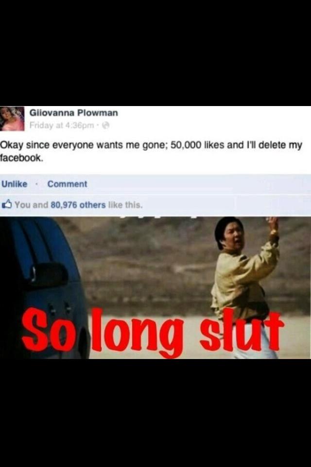 Facebook sluts