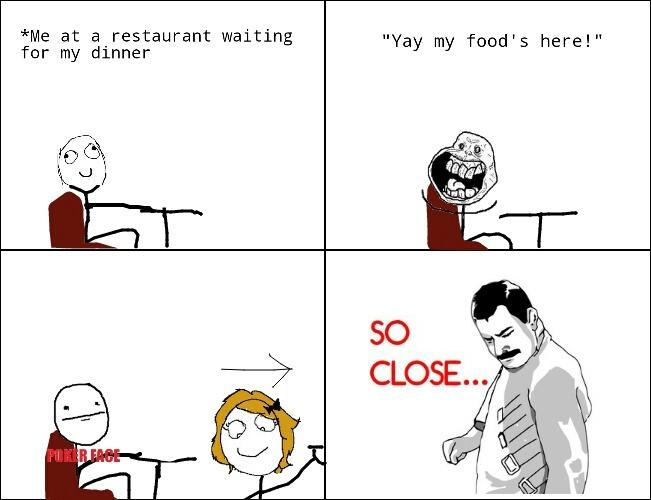Me At Restaurant Waiting For Food Meme By Vikas Vs Memedroid This meme made me whine. memedroid