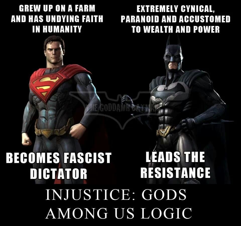 injustice logic - Meme by Nycsuperhero :) Memedroid