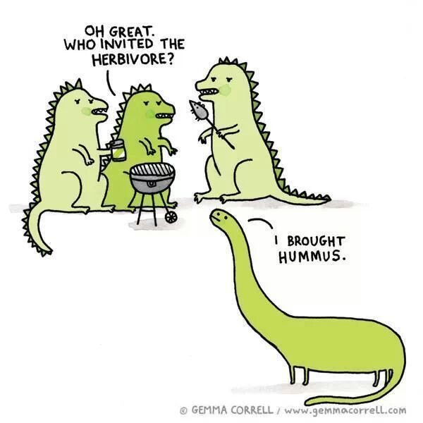 Damn Herbivores And Their Hummus Meme By Shzball Memedroid