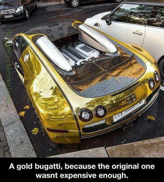 Golden Bugatti Meme By Hailjesus Memedroid