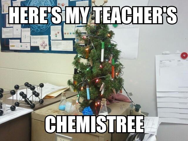 My chemistry teacher loves making puns - Meme by Schlankwald