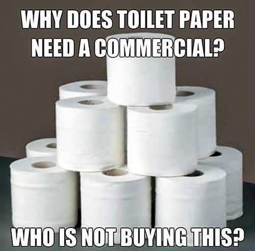 toilet paper - Meme by shandyguyy :) Memedroid