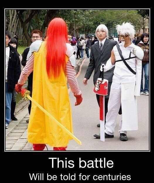 Epic cosplay