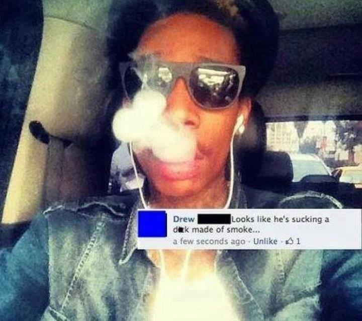 Apologise, Smoke penis remarkable