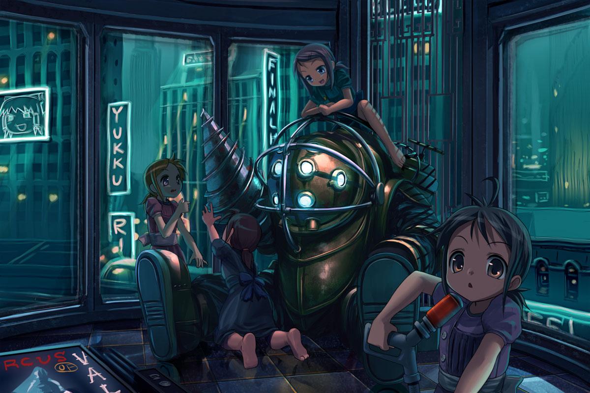 Bioshock big sister hentai what necessary