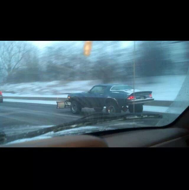 Snow Plow Camero Only In Wv Meme By Missiles5 Memedroid