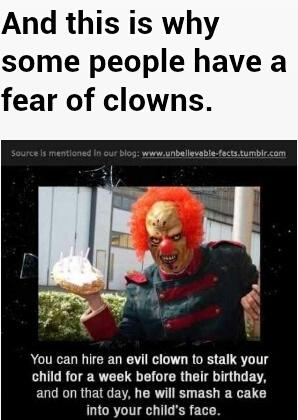 Who is afraid of clowns? - Meme by leslie.umphlett