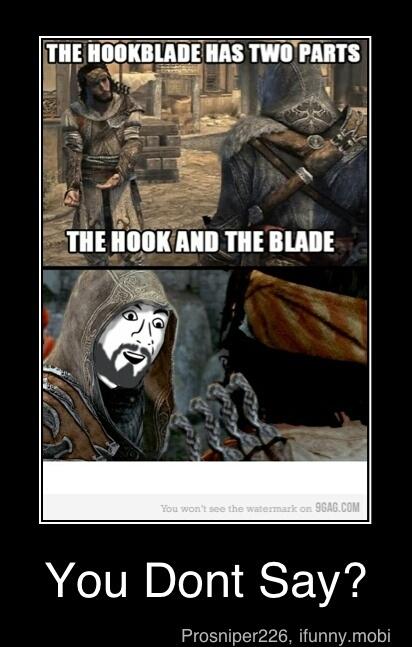 hook blade - meme