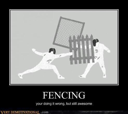 fencing - meme