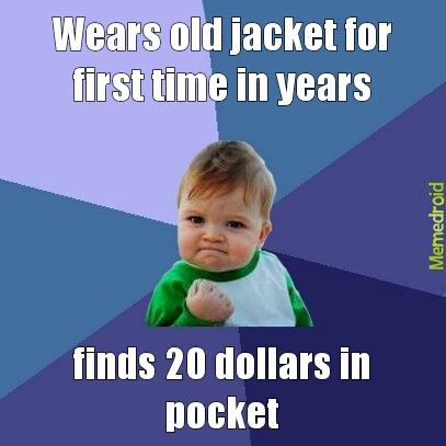 lucky jacket - meme
