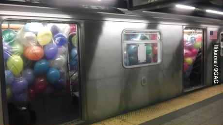 subway this morning - meme