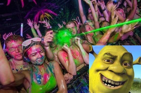 Troll Shrek - meme