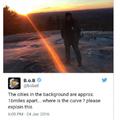 B.o.B really thinks the earth is flat...