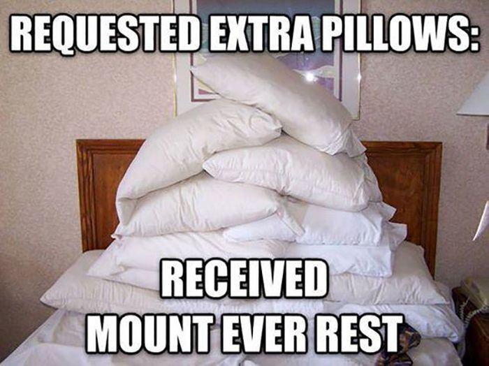 Pillows - meme