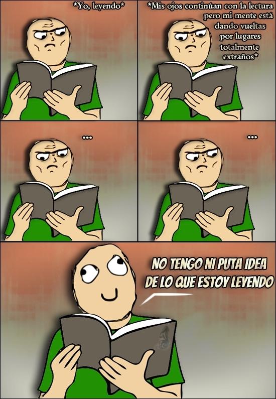 Leer no es lo mio - meme