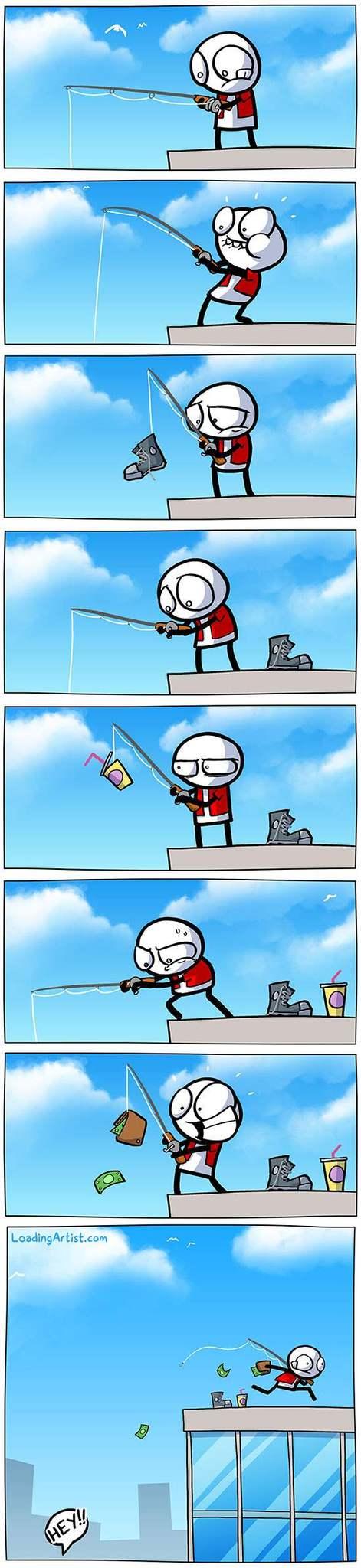 Pesca de altura - meme