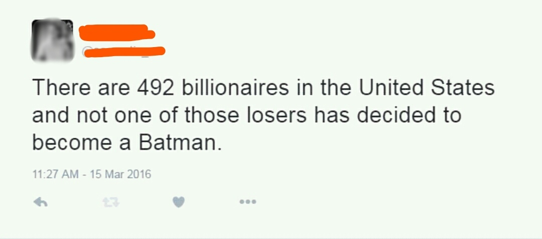 Trump for Batman!