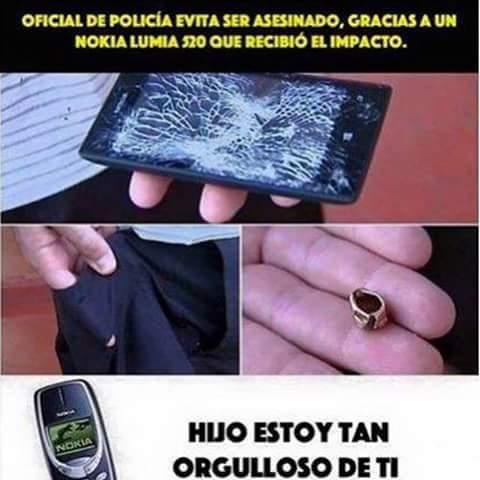 Nokias Indestructibles.! XDXDXD - meme