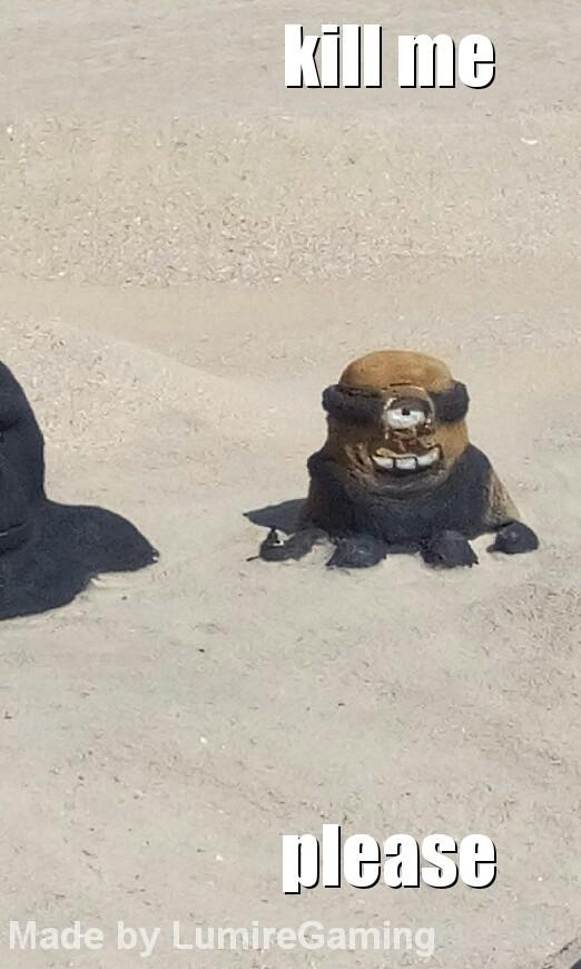 trouver sur la plage xD - meme