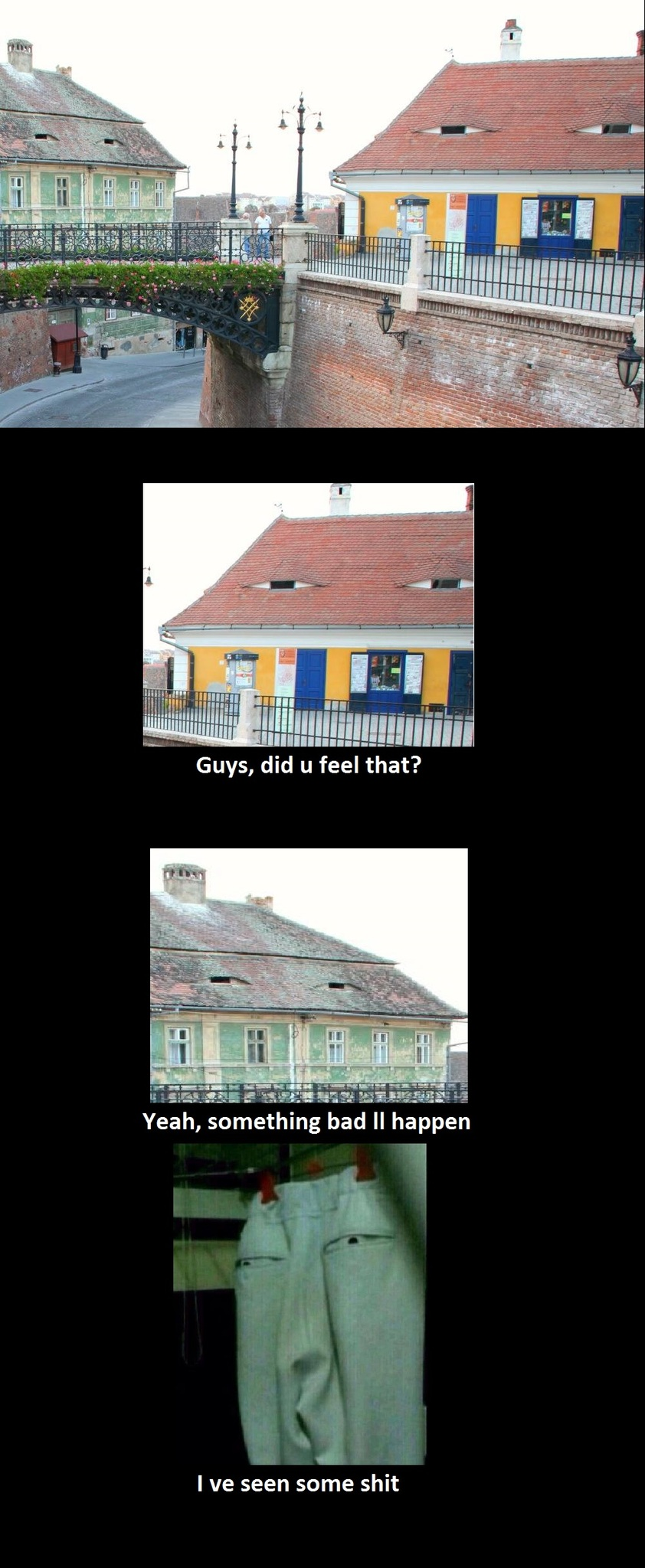 Suspicious neighborhood - meme