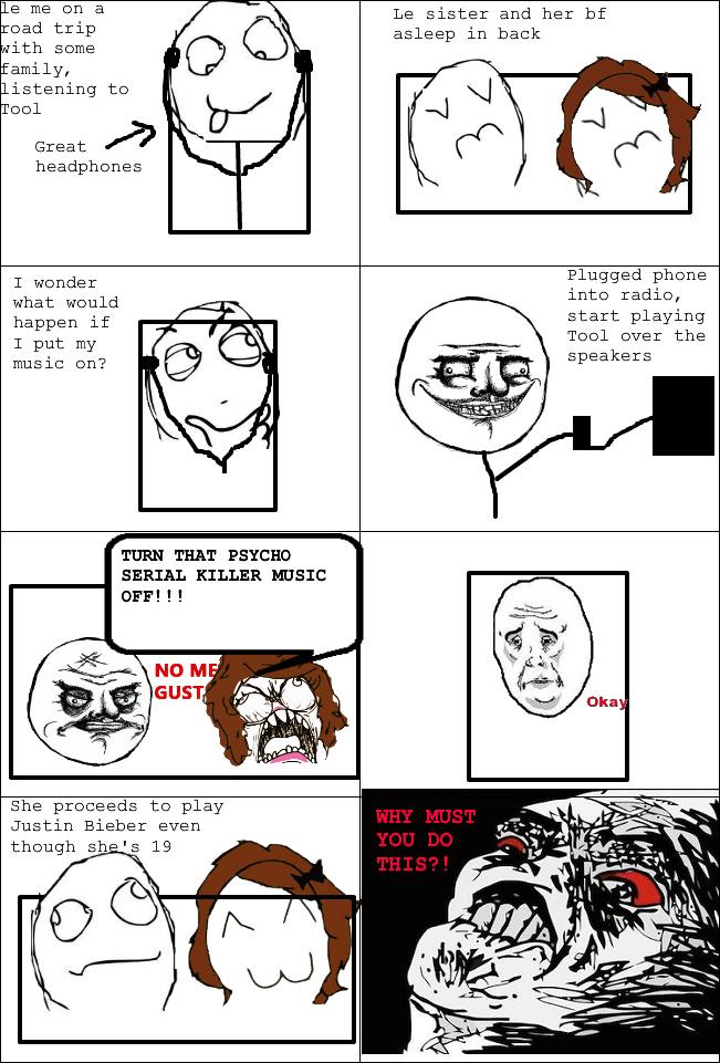 Why sister? - meme
