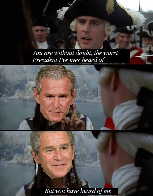 Vote Bush 2016 faggots - meme