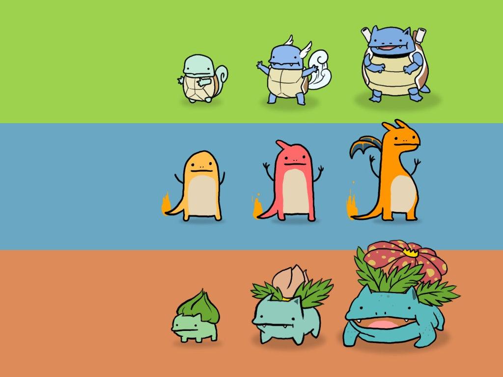 le vrai évolution pokémon - meme