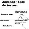 Jogando Jogos De Terror - Original Por asalencar