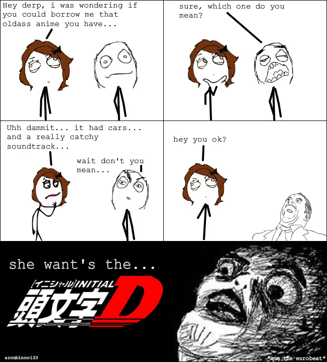 The Best Initial D Memes :) Memedroid