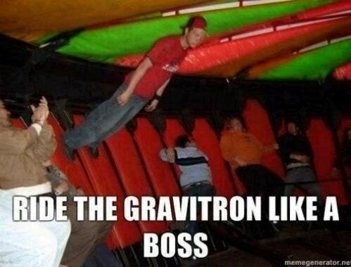 Gravitron - meme